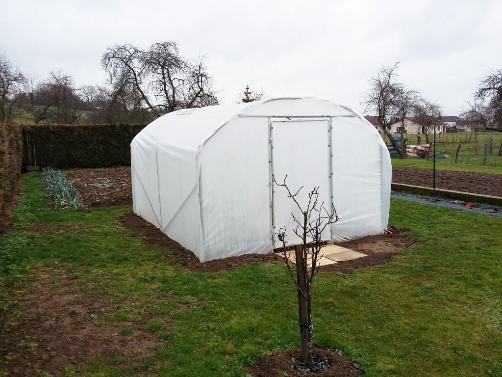 photos d 39 une serre de jardin largeur 3 m prises par nos clients. Black Bedroom Furniture Sets. Home Design Ideas
