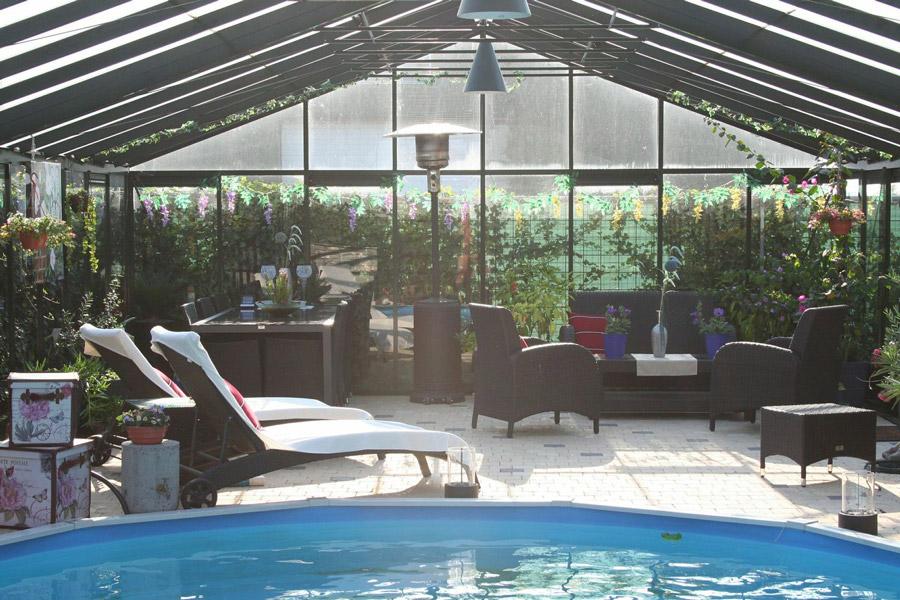 Choisir un abri de piscine blog jardin couvert for Jardin couvert lyon