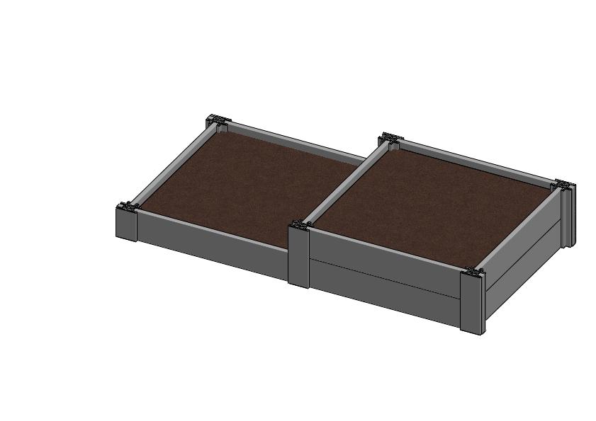 carré potager CARK010