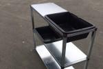 Table de rempotage acier et PVC