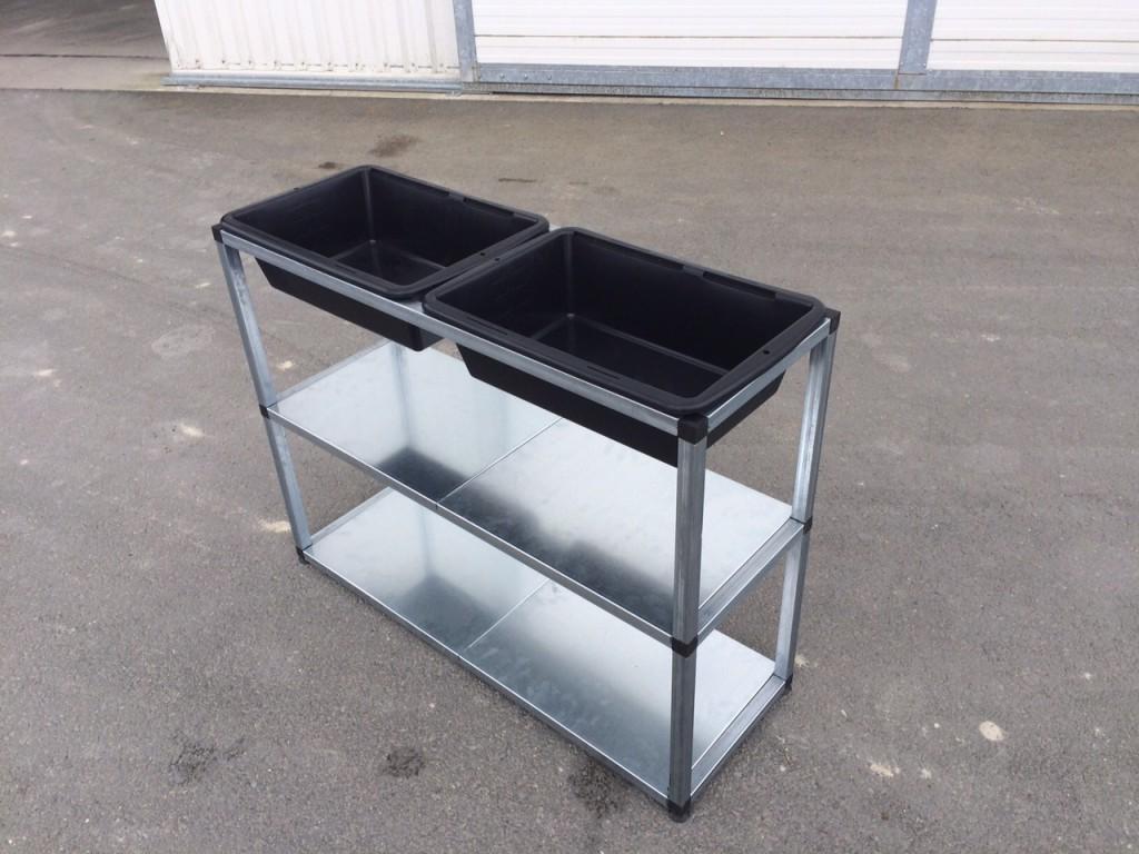 une table de rempotage modulable fabriqu e en france. Black Bedroom Furniture Sets. Home Design Ideas