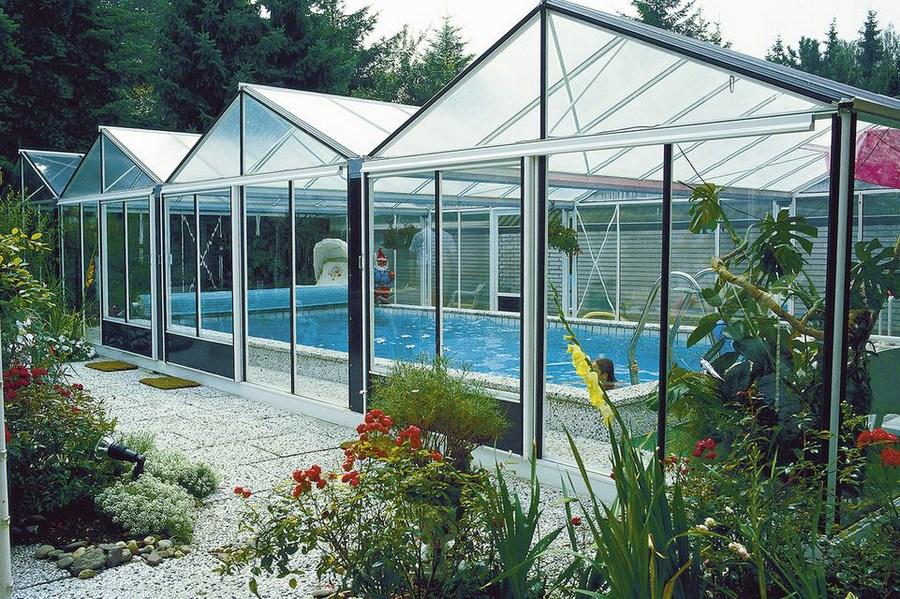 Choisir un abri de piscine blog jardin couvert - Un abri de jardin est il imposable ...