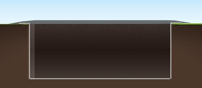 Nous vous indiquons comment creuser un bassin rectangulaire for Bassin rectangulaire