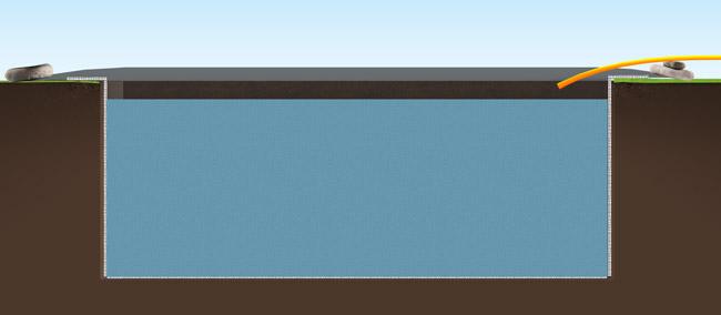 Nous vous indiquons comment creuser un bassin rectangulaire - Comment creuser un bassin ...
