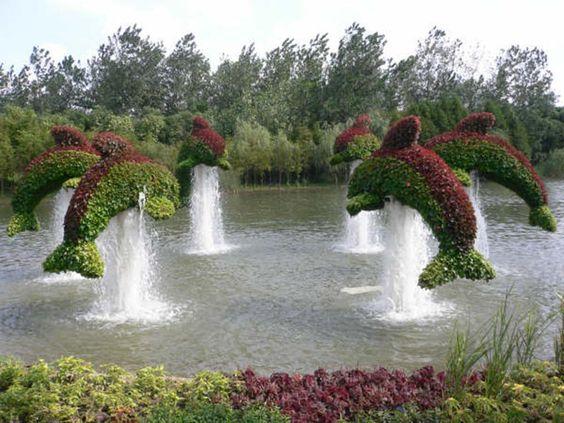 dauphin jardin