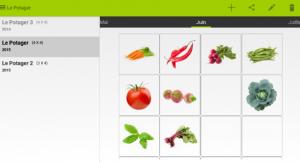 Appli mobile gestion du jardin