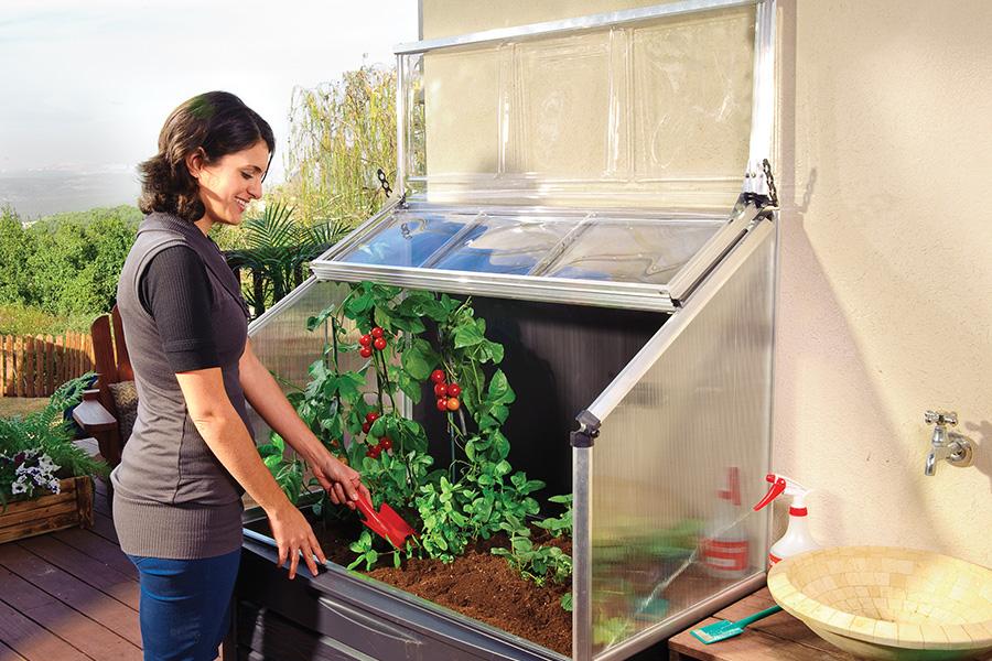 Potager sur lev jardiner sur un balcon c 39 est possible - Potager appartement sans balcon ...