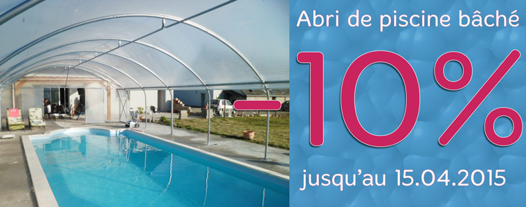 Promotion abri de piscine