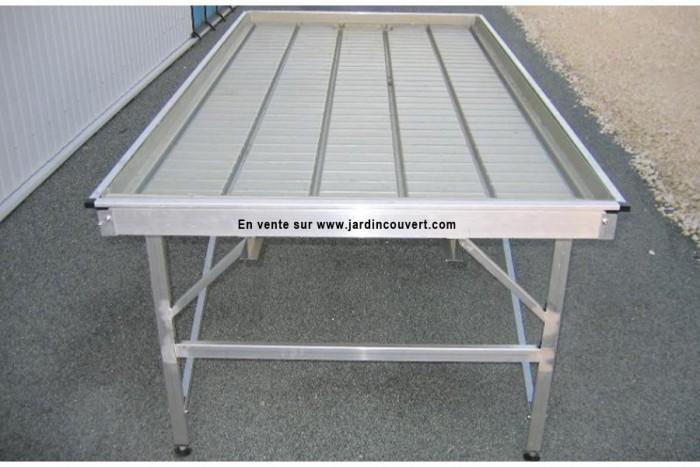 Table pro fixe aluminium