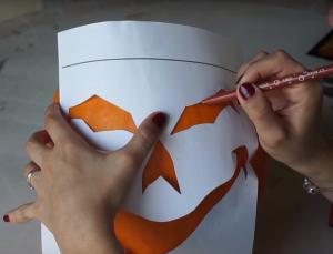 dessiner visage Halloween