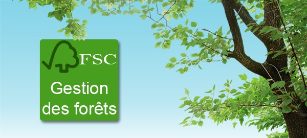 Label FSC Forest Stewardship Council