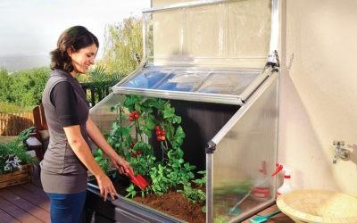 Jardiner sur un balcon