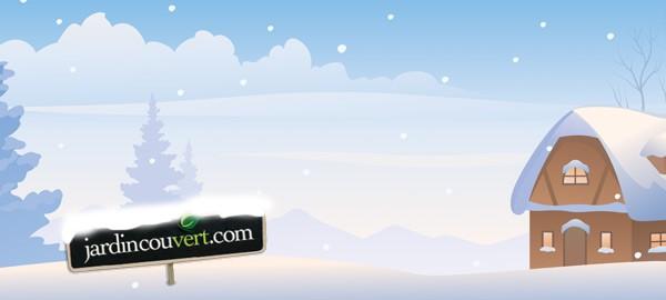 La neige et votre serre : conseils importants