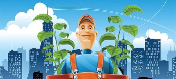 Jardinier en ville