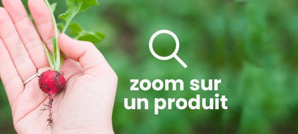 Zoom sur un produit
