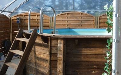 Photos de client : abri de piscine bâché
