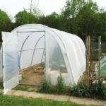 Rebâchage serre de jardin