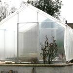 Re bâchage de serre - jardin couvert