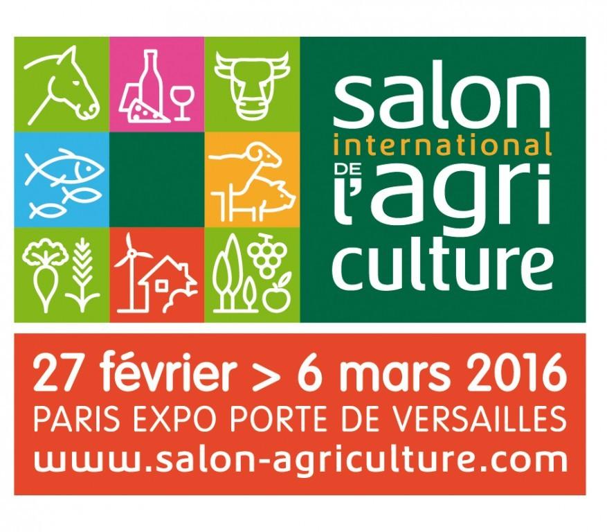 Logo du salon de l'agriculture 2016 à Paris