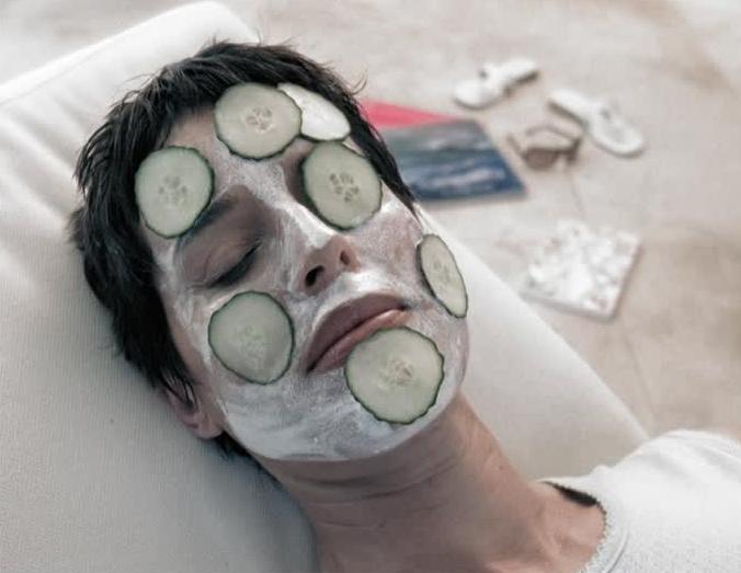 masque concombre