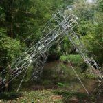 Une œuvre d'art réalisée avec nos structures en acier galvanisé