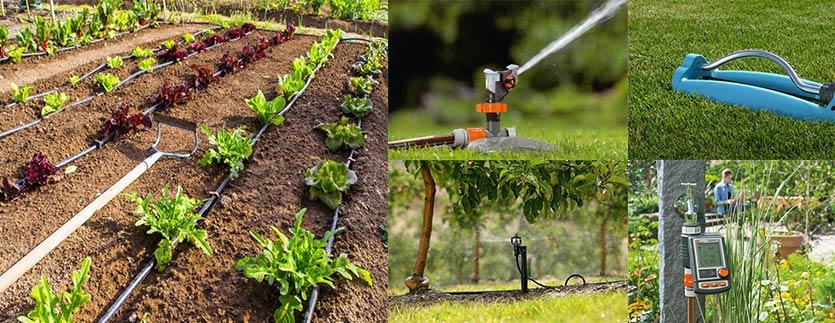 systèmes arrosage jardin