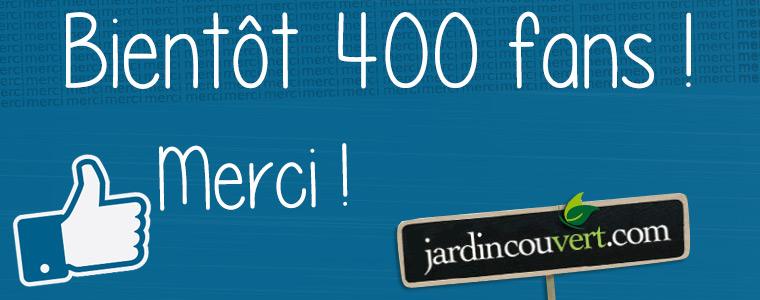 Fans facebook Jardin Couvert