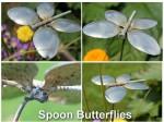 Papillon en petites cuillères