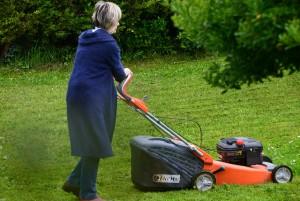 tondre pelouse