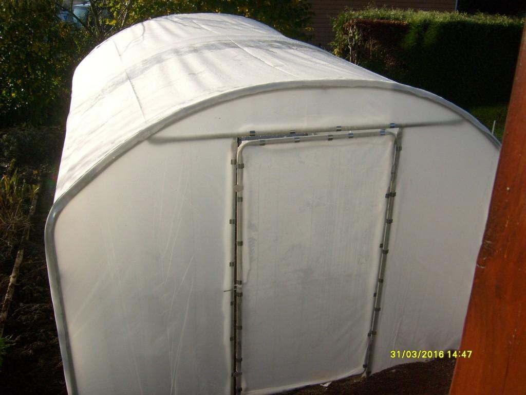 photos de serre tunnel de jardin mod le saumuroise largeur 3 m. Black Bedroom Furniture Sets. Home Design Ideas