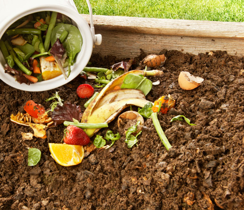 Pile de compost