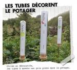 Mémo jardinier en tubes éprouvette