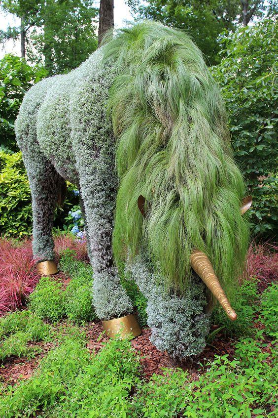 licorne jardin