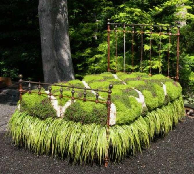 lit jardin