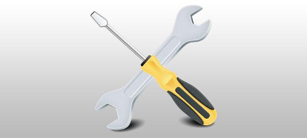 Montage avec outils