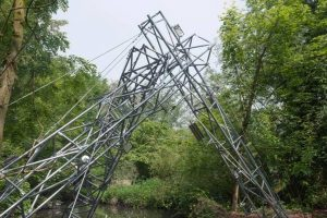 sculpture acier galvanisé 3