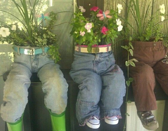pantalon pot de fleur