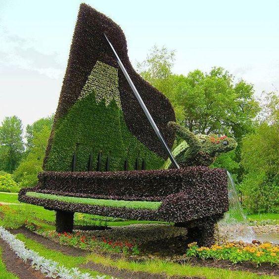 piano jardin