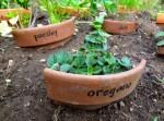 Mémo jardinier en pot