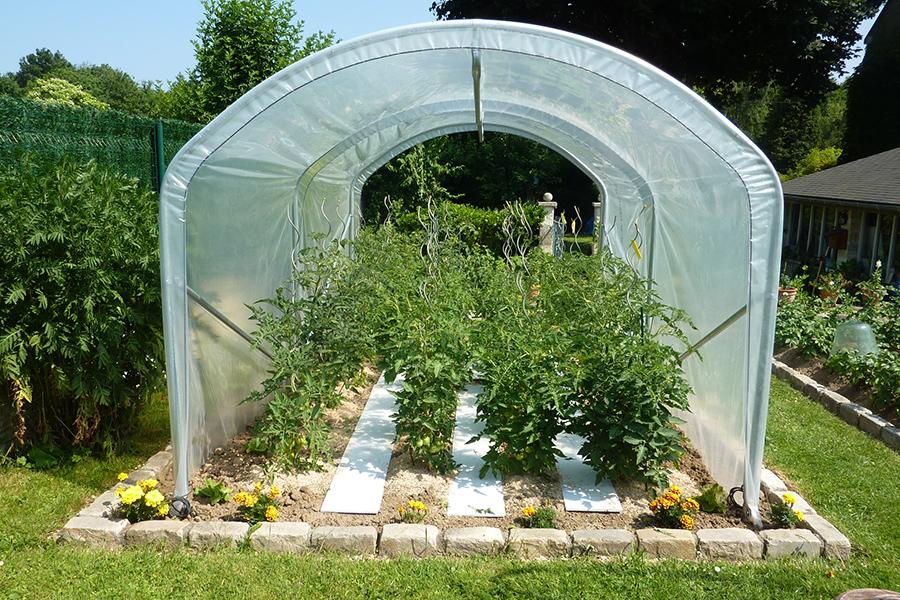 photos de serres tunnels de jardin envoy es par nos clients. Black Bedroom Furniture Sets. Home Design Ideas