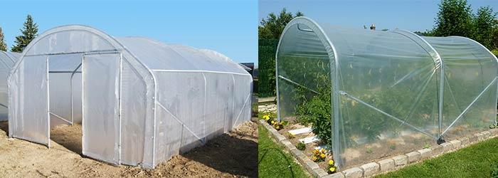 Serres de jardin : serre Richelieu largeur 4 m et serre à tomates