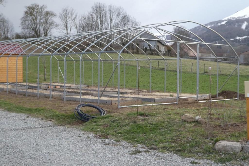 structure serre renforcée 6 m